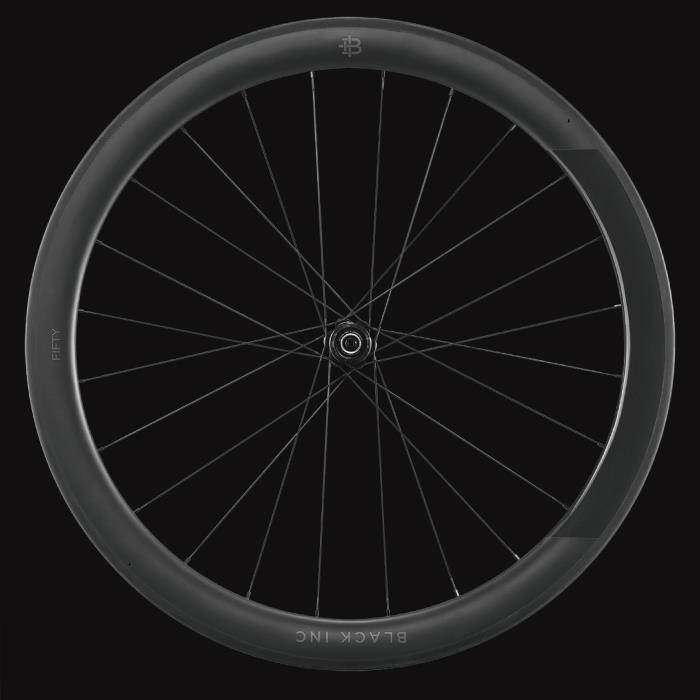 black inc(ブラックインク) BLACK FIFTY 3 シマノ11S チューブラー リアホイール