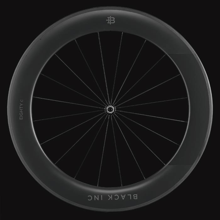 black inc(ブラックインク) BLACK EIGHTY C 3 クリンチャー フロントホイール