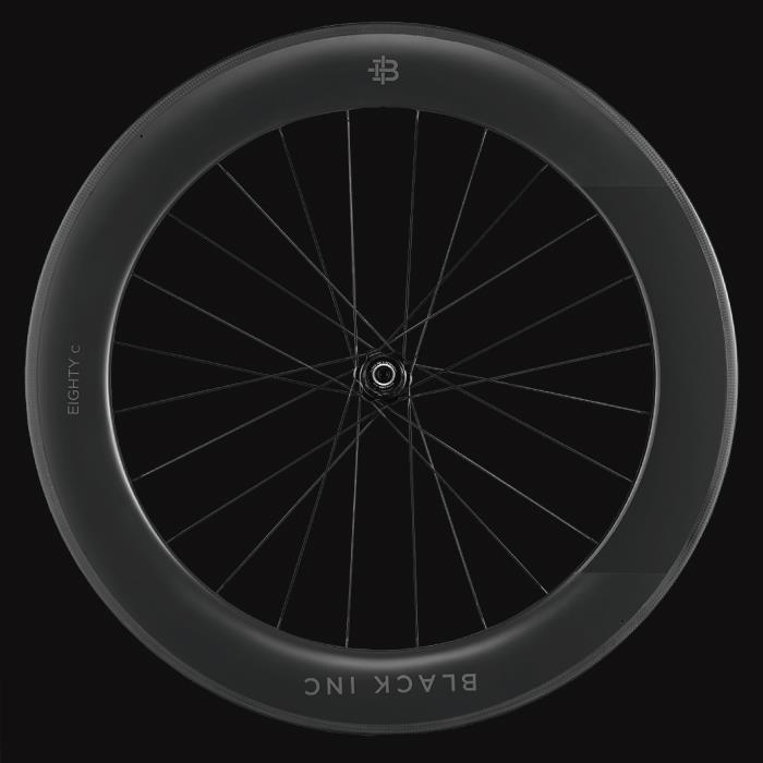 black inc(ブラックインク) BLACK EIGHTY C 3 シマノ11S クリンチャー リアホイール