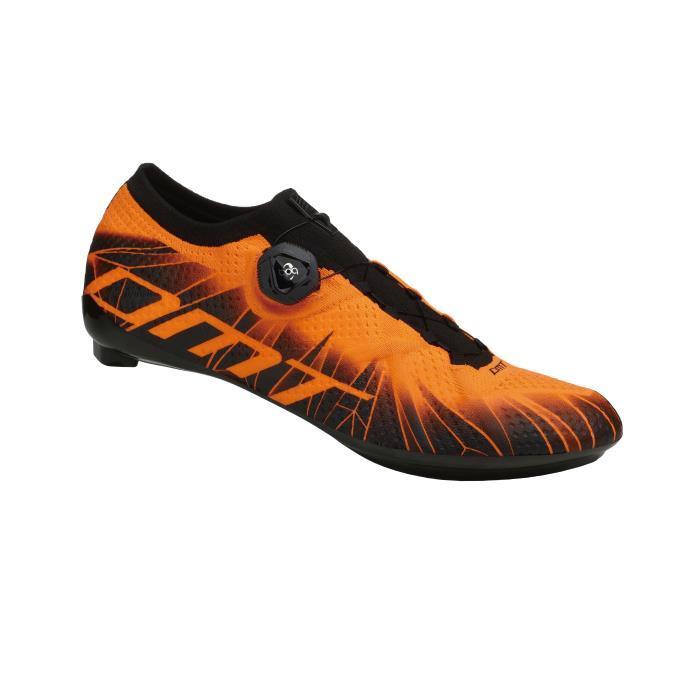 DMT (ディーエムティー) KR1 ブラック/オレンジ FLUO サイズ39(24.5cm) ビンディングシューズ