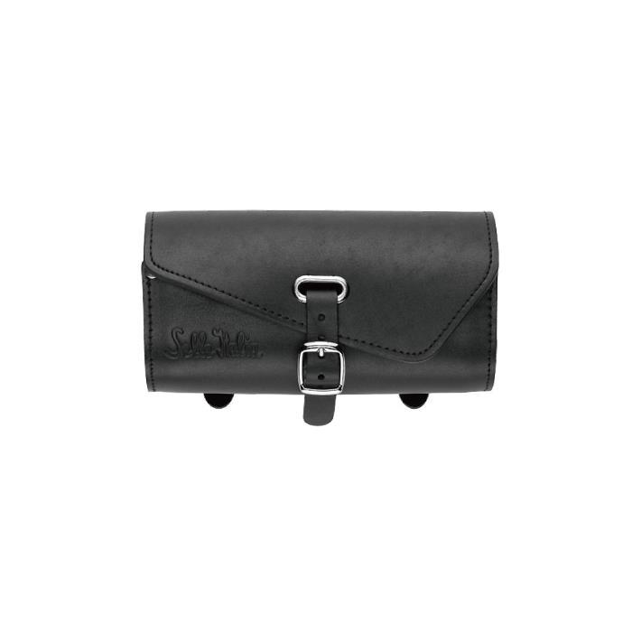 Sella Italia (セラ イタリア) GLORIOSA BAG BLACK 本革 サドルバッグ