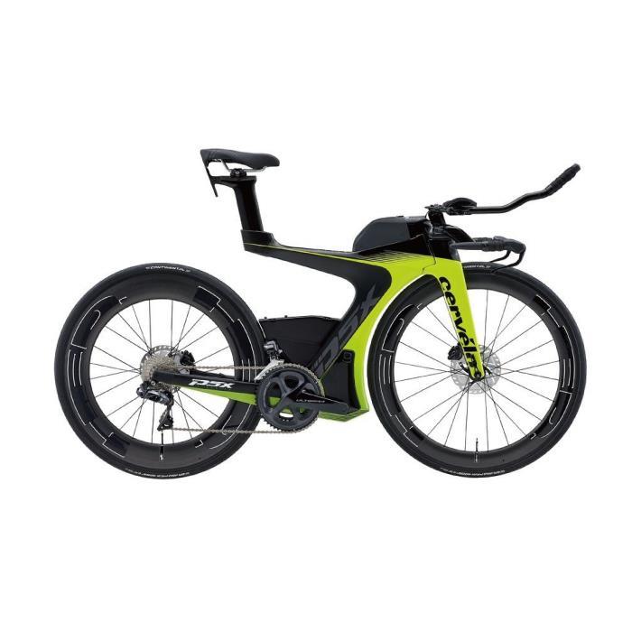 Cervelo (サーベロ) 2019モデル P5X Disc R8070 Di2 フルオロ サイズL(175-180cm) ロードバイク