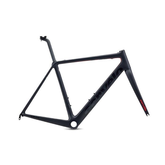 Cervelo (サーベロ) 2019モデル R5 LTD ブラック/ブラック/コーラル サイズ54(175-180cm) フレームセット