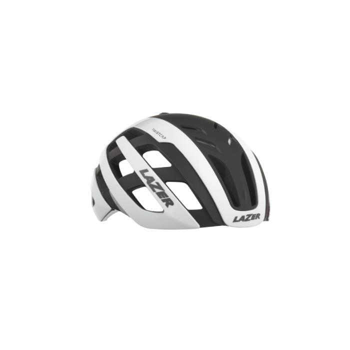 LAZER (レーザー) センチュリー アジアンフィット ホワイト/ブラック サイズS(52-56cm) ヘルメット