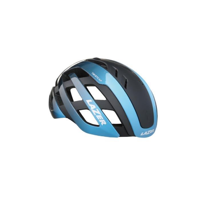 LAZER (レーザー) センチュリー アジアンフィット ブルーブラック サイズL(58-61cm) ヘルメット