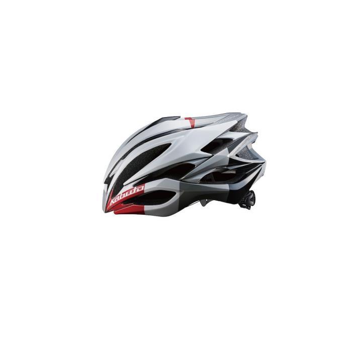 OGK (オージーケー) ZENARD-EX ゼナード ホワイトレッド サイズL ヘルメット