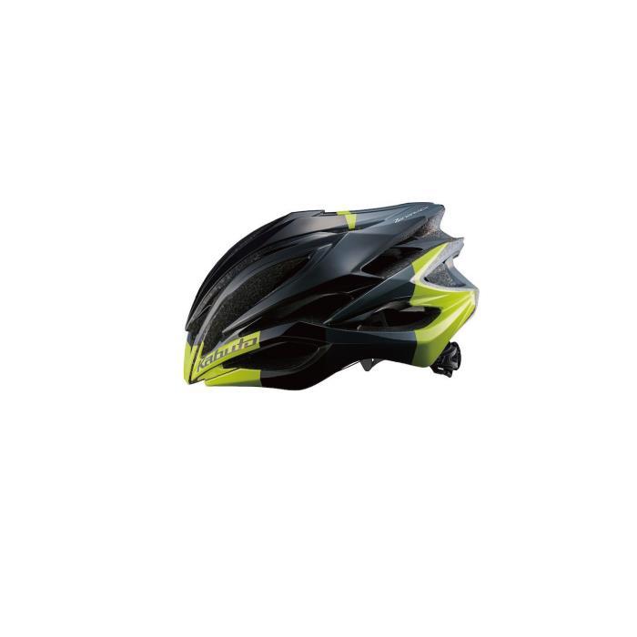 OGK (オージーケー) ZENARD-EX ゼナード ブラックグリーン サイズL ヘルメット