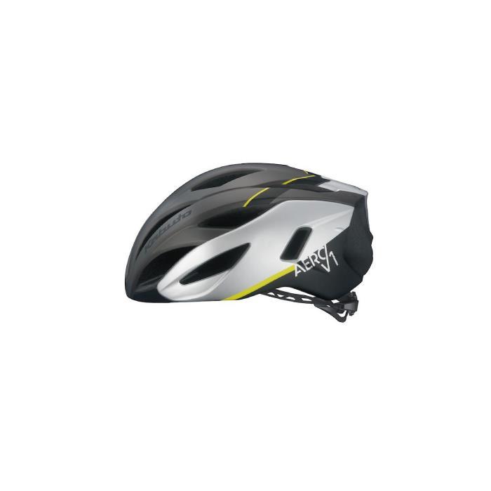 OGK (オージーケー) AERO-V1 G-1 マットガンメタ サイズS/M ヘルメット