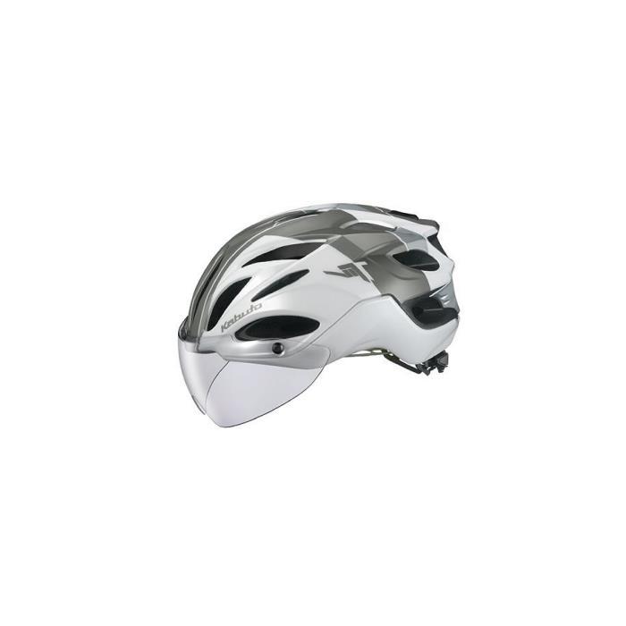 OGK (オージーケー) VITT G-1 ヴィット パールホワイト サイズS/M ヘルメット
