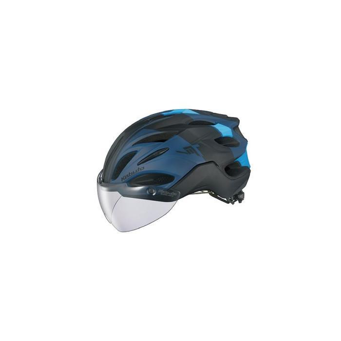 OGK (オージーケー) VITT G-1 ヴィット マットネイビーブルー サイズL ヘルメット