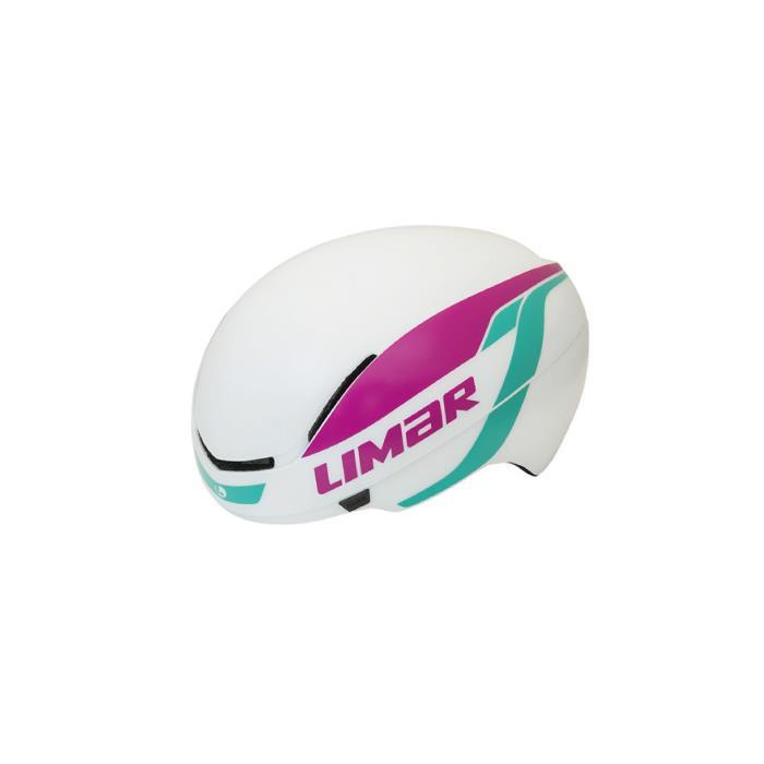 Limar (リマール) 007 SUPERLIGHT ホワイト/パープル/エメラルド ヘルメット