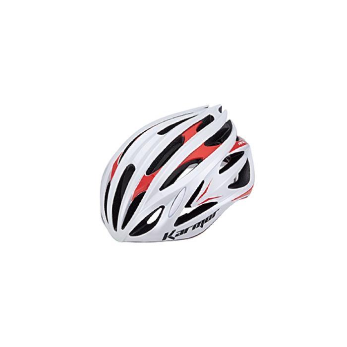 Karmor(カーマー) FEROX2 フェロックス ホワイト/レッド サイズS/M(55-58cm) ヘルメット