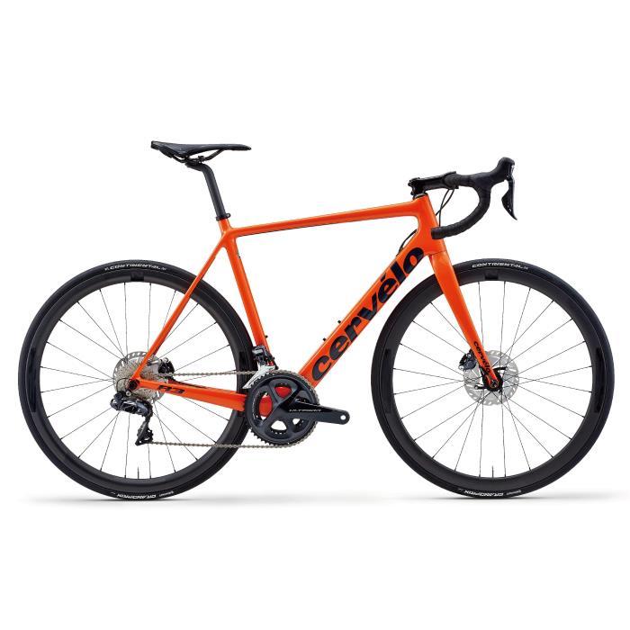 Cervelo (サーベロ) 2020モデル R3 DISC R8070 Di2 オレンジ サイズ48(165-170cm) ロードバイク