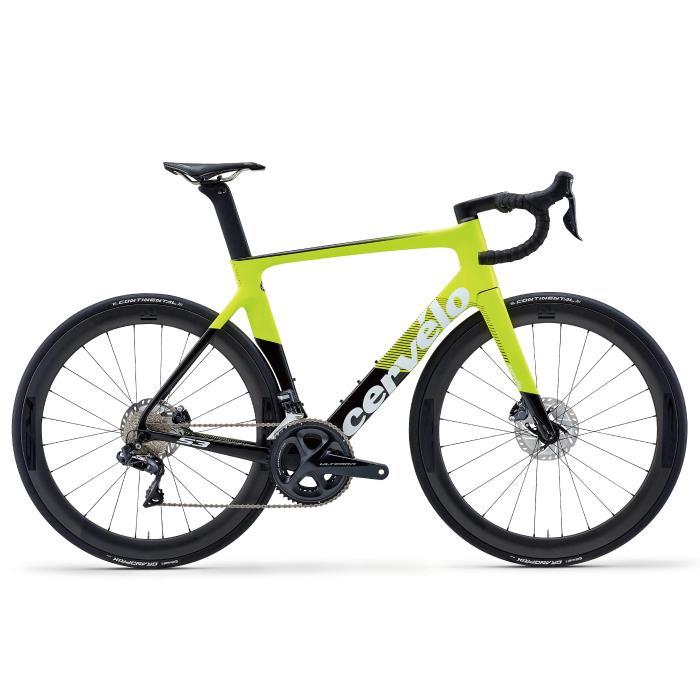 Cervelo (サーベロ) 2020モデル S3 DISC R8070 Di2 フルオロ サイズ48(165-170cm) ロードバイク