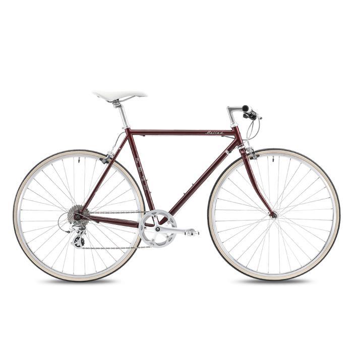 FUJI (フジ) 2020モデル BALLAD ボルドー サイズ43(158-163cm) クロスバイク