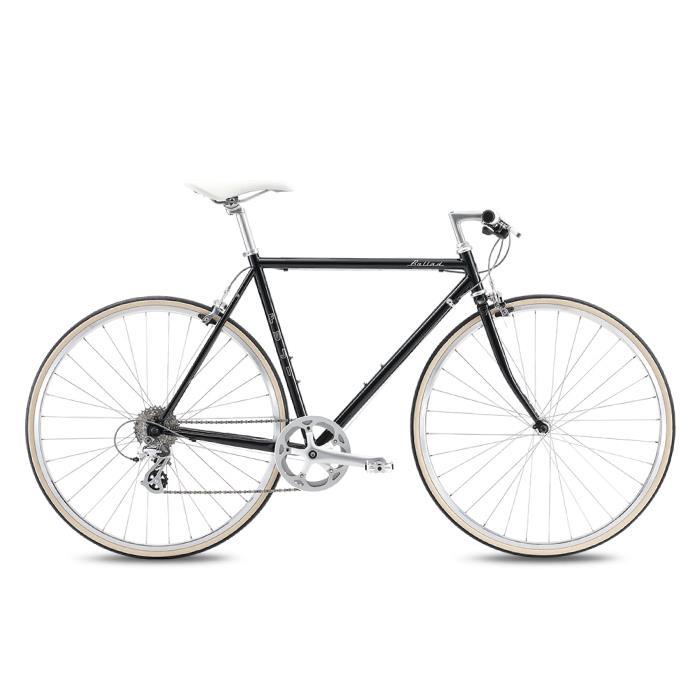 FUJI (フジ) 2020モデル BALLAD ブラック サイズ43(158-163cm) クロスバイク