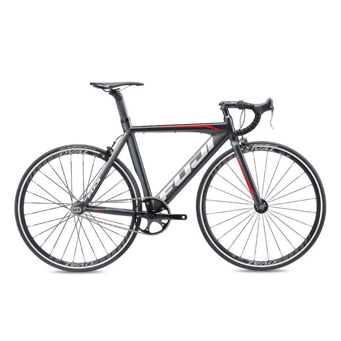 FUJI (フジ) 2020モデル TRACK PRO ブラック/レッド サイズ49(165-170cm) シングルスピード