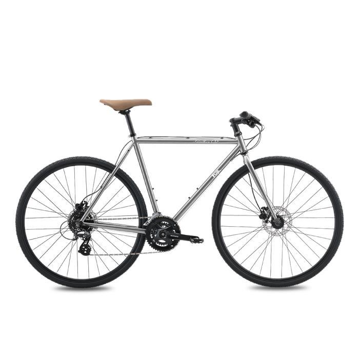 FUJI (フジ) 2020モデル FEATHER CX FLAT ブライトシルバー サイズ52(168-173cm) クロスバイク
