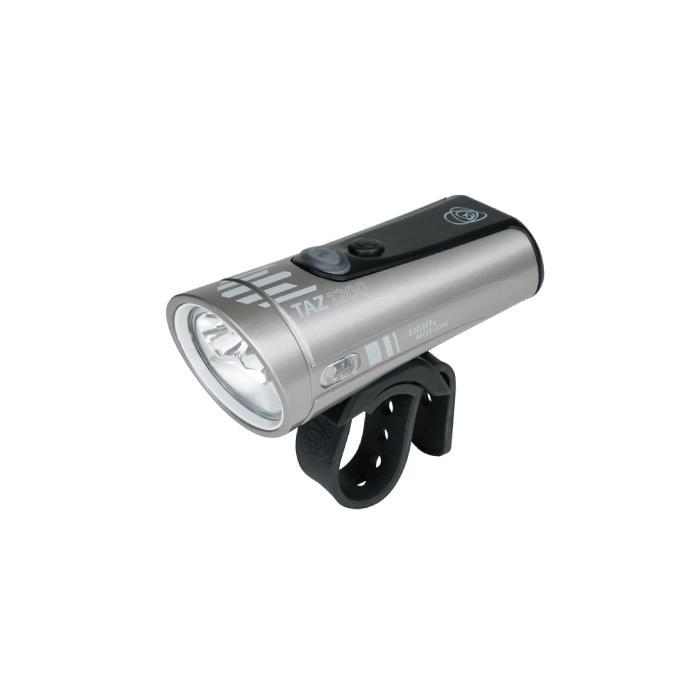 LIGHT&MOTION(ライト&モーション) TAZ 1200 シルバー/ブラック フロントライト