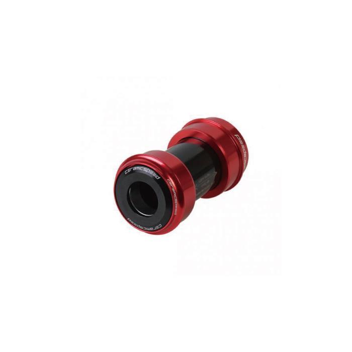 CeramicSpeed (セラミックスピード) PF30A COATED SRAM GXP用 レッド ボトムブラケット