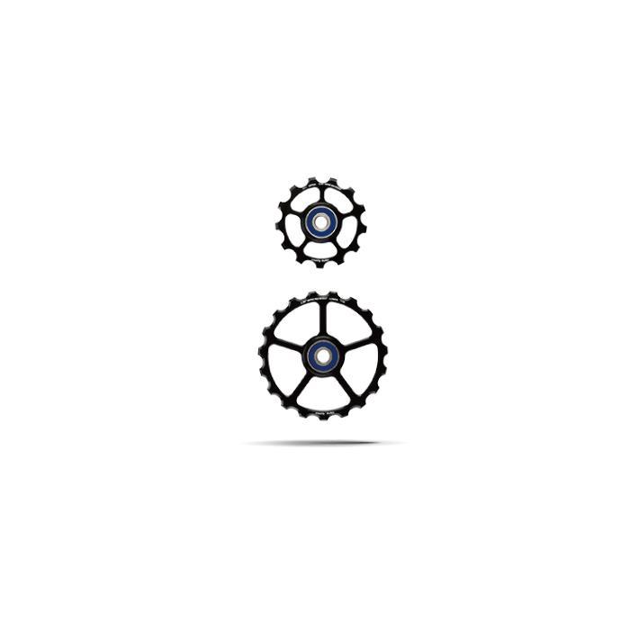 CeramicSpeed (セラミックスピード) Over Sized プーリーケージ スペアプーリーキット 13/19T レッド