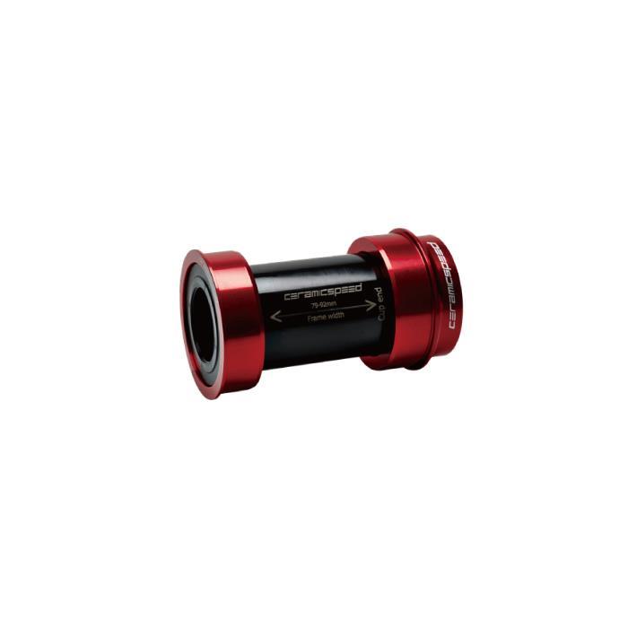 CeramicSpeed (セラミックスピード) BB right SRAM DUB用 レッド ボトムブラケット