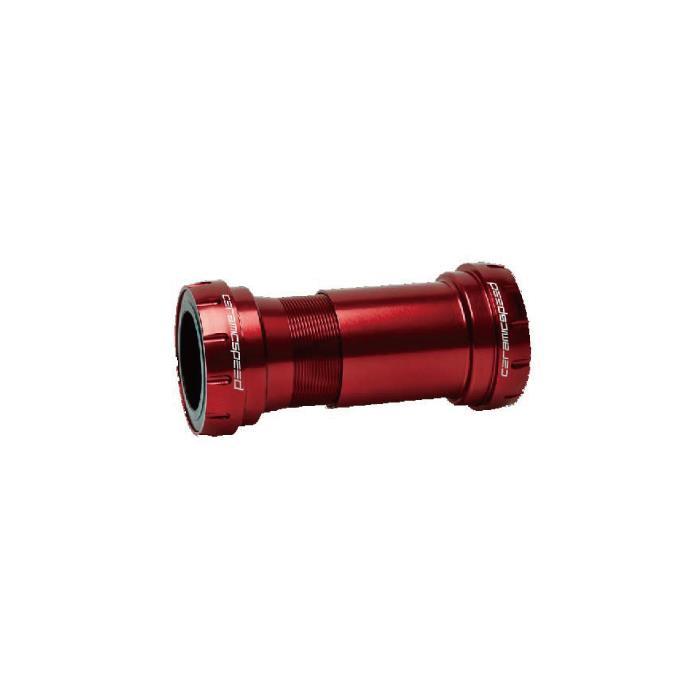 CeramicSpeed (セラミックスピード) BB30to24 COATED SRAM DUB用 レッド ボトムブラケット