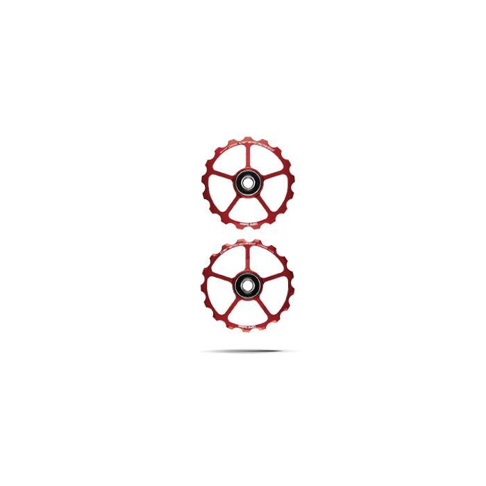 CeramicSpeed (セラミックスピード) プーリーキット 17T レッド