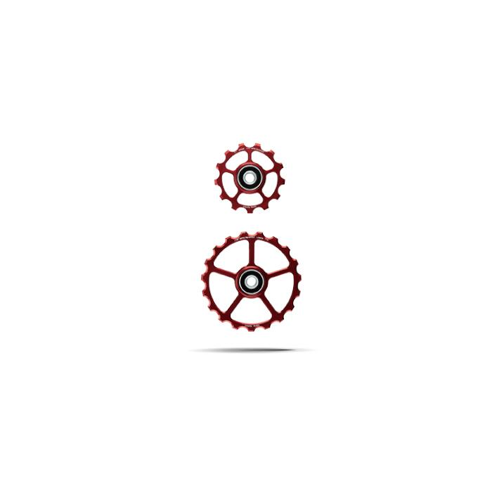 CeramicSpeed (セラミックスピード) プーリーキット 13/19T レッド