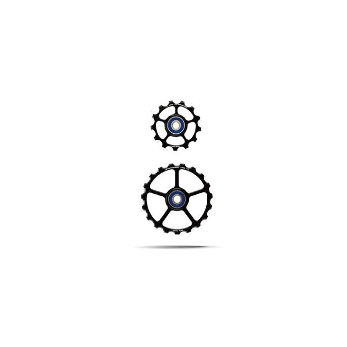 CeramicSpeed (セラミックスピード) プーリーキット 13/19T COATED ブラック