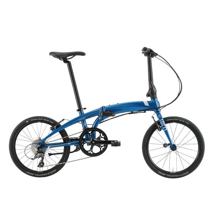 TERN (ターン) 2020モデル VERGE N8 ヴァージュ ブルー/ホワイト/ブラック (142-190cm) 折畳自転車