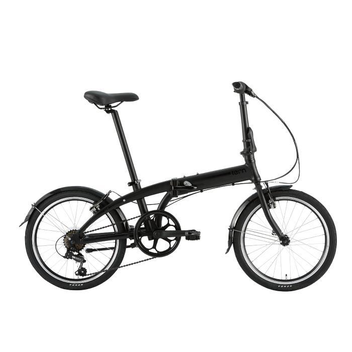 TERN (ターン) 2020モデル LINK A7 リンク マットブラック/ブラック (142-190cm) 折畳自転車