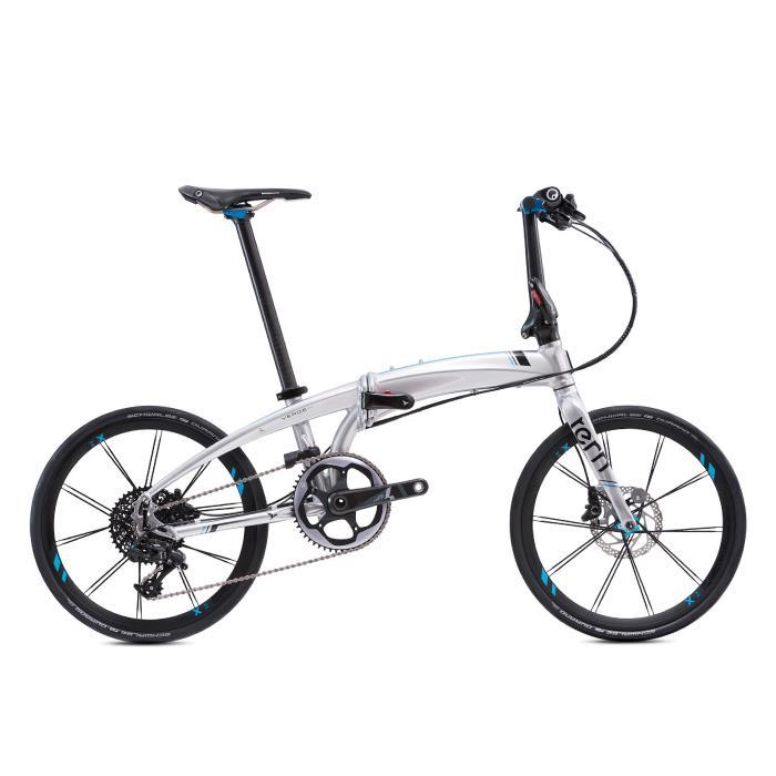 TERN (ターン) 2020モデル VERGE X11 ヴァージュ クローム/ブラック (142-190cm) 折畳自転車