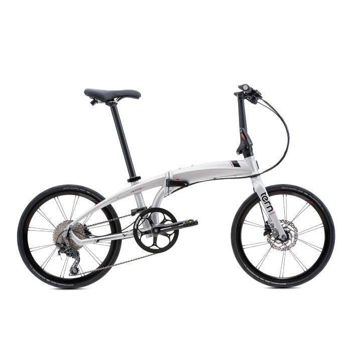 TERN (ターン) 2020モデル VERGE P10 ヴァージュ マットシルバー/ブラック (142-190cm) 折畳自転車