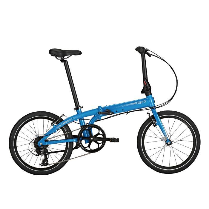 TERN (ターン) 2020モデル LINK C8 リンク マットブルー/シルバー (142-190cm) 折畳自転車
