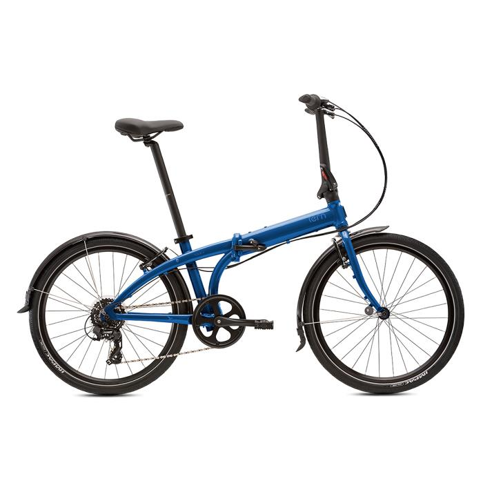 TERN (ターン) 2020モデル NODE C8 ノード ダークブルー/ブルー (148-195cm) 折畳自転車