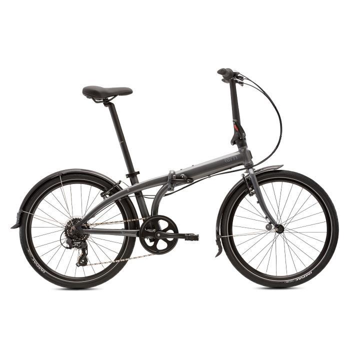 TERN (ターン) 2020モデル NODE C8 ノード ガンメタル/グレー (148-195cm) 折畳自転車