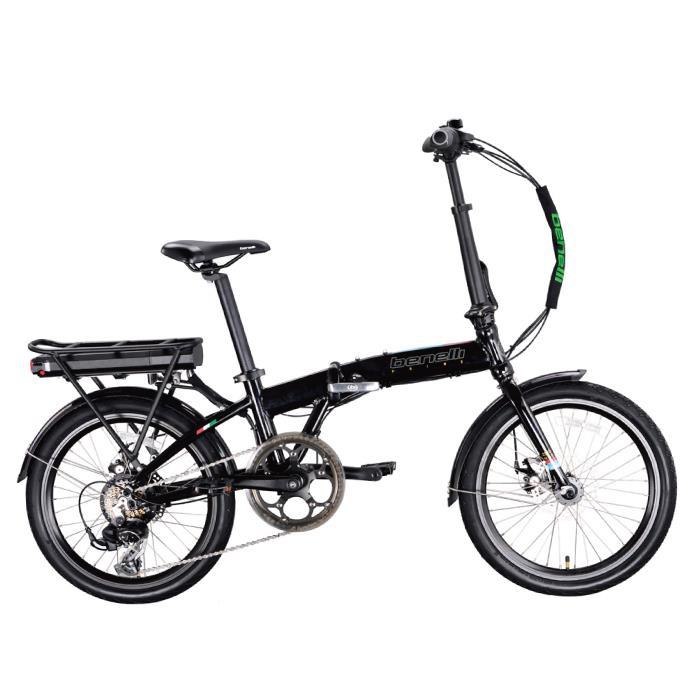 benelli(ベネリ) ZERO N2.0 ブラック 折りたたみ 電動アシスト自転車