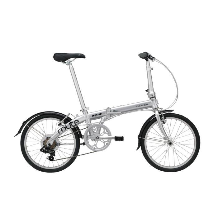 DAHON (ダホン) 2020モデル Route ルート ピュアシルバー (142-193cm) 折畳自転車