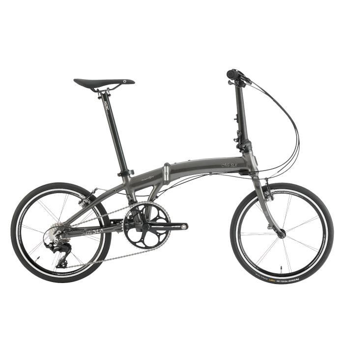 DAHON (ダホン) 2020モデル Mu SLX ミュー メタリックグレー (142-193cm) 折畳自転車