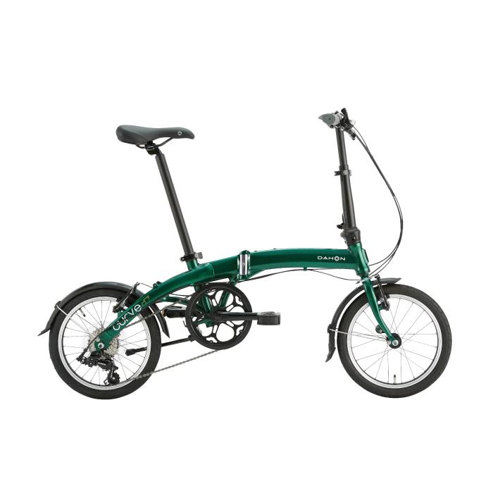 DAHON (ダホン) 2020モデル Curve D7 カーブ アイビーグリーン (153-188cm) 折畳自転車