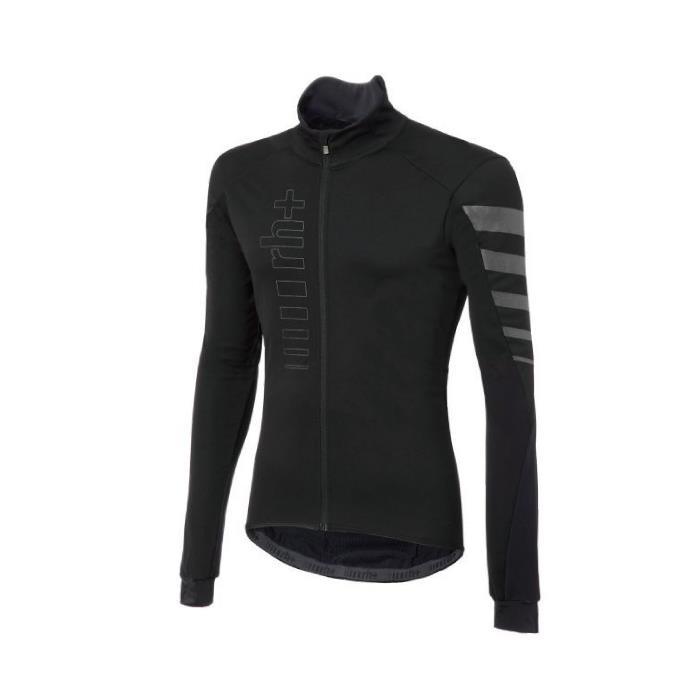 rh+(アールエイチプラス) CODE WIND JACKET ブラック/リフレックス サイズL サイクリングジャケット
