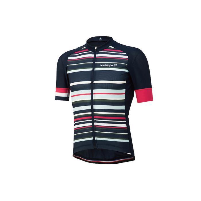le coq sportif(ルコックスポルティフ) エンデューロ ストライプジャージ ネイビー サイズS メンズ