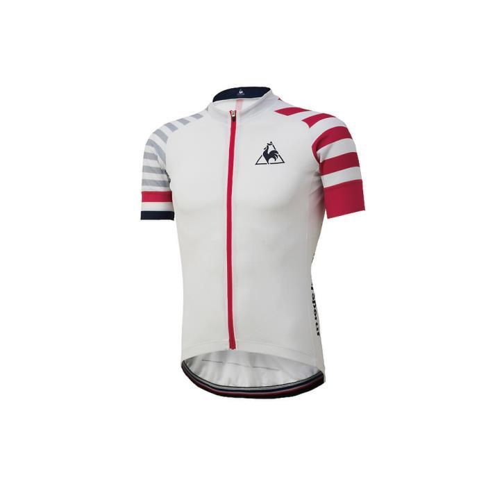 le coq sportif(ルコックスポルティフ) エンデューロジャージ サマー ホワイト サイズS メンズ