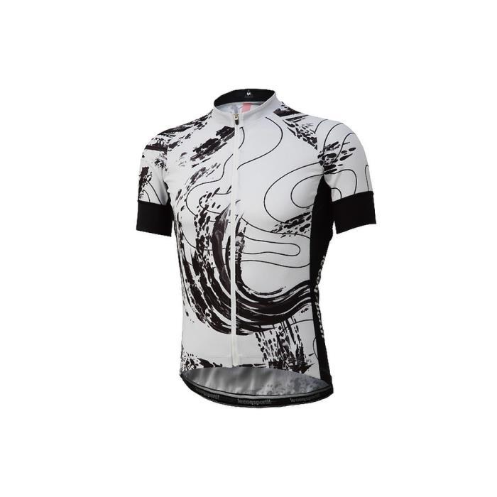 le coq sportif(ルコックスポルティフ) タービュランス エンデューロジャージ ホワイト サイズL メンズ