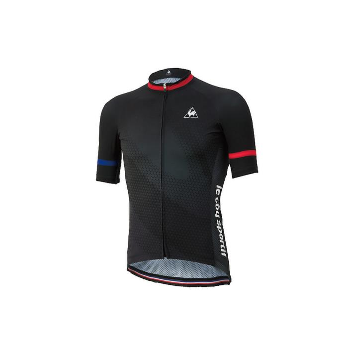 le coq sportif(ルコックスポルティフ) エアロジャージ ブラック サイズM メンズ