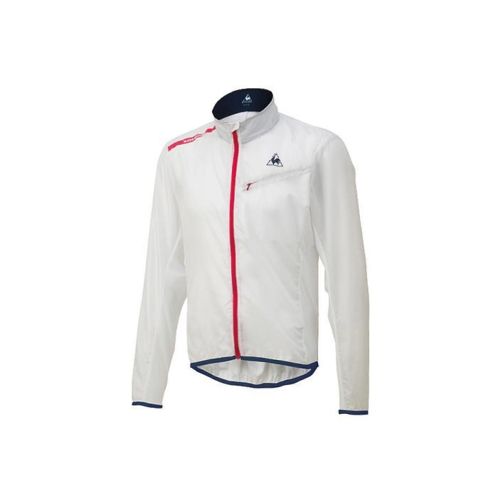 le coq sportif(ルコックスポルティフ) クリアジャケット ホワイト サイズL メンズ