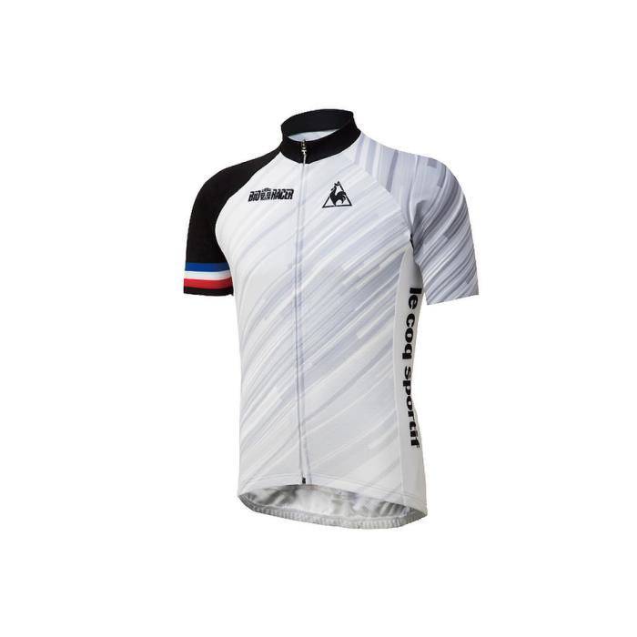 le coq sportif(ルコックスポルティフ) ビオサイクルジャージ ホワイト サイズM メンズ