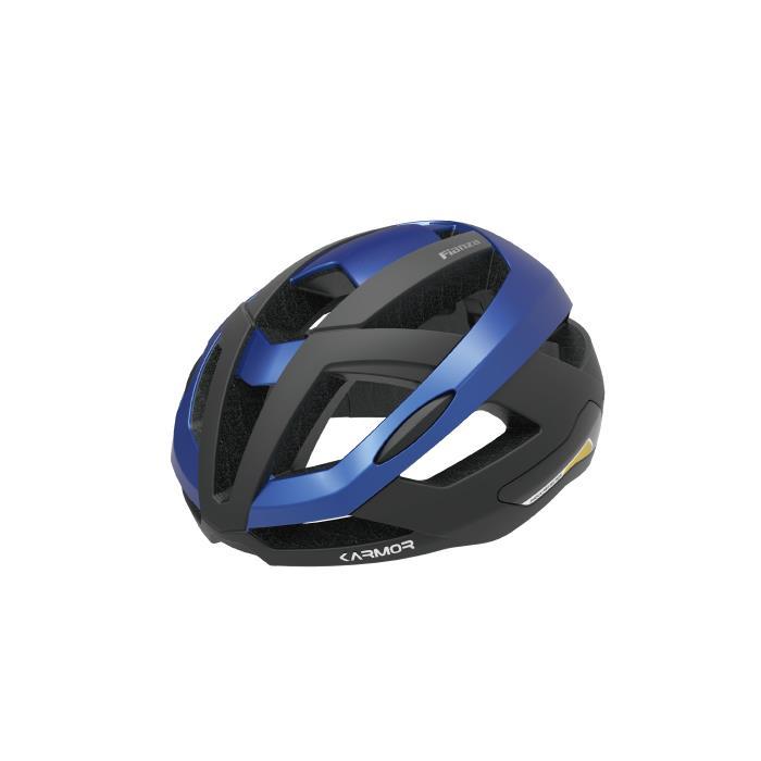 Karmor(カーマー) FIANZA フィアンザ ブラック/ブルー サイズS/M(55-58cm) ヘルメット