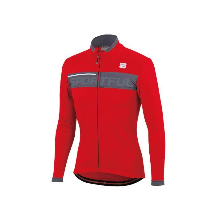 Sportful (スポーツフル) NEO SOFTSHELL レッド/アンスラサイト サイズL サイクリングジャケット